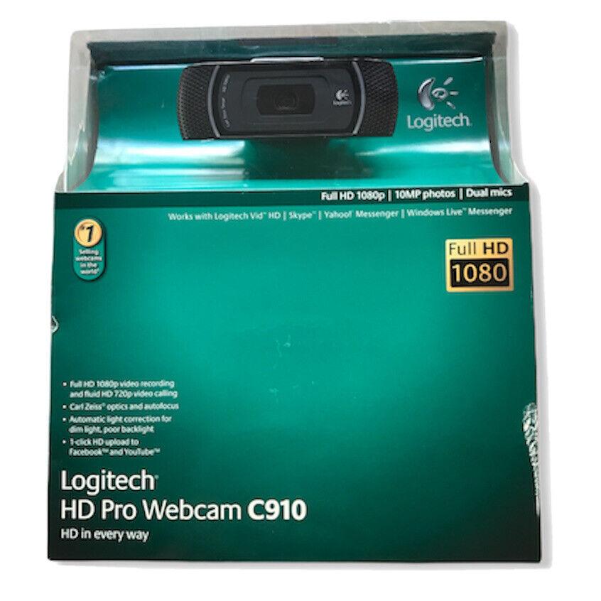 Logitech C910 Web Cam For Sale Online Ebay