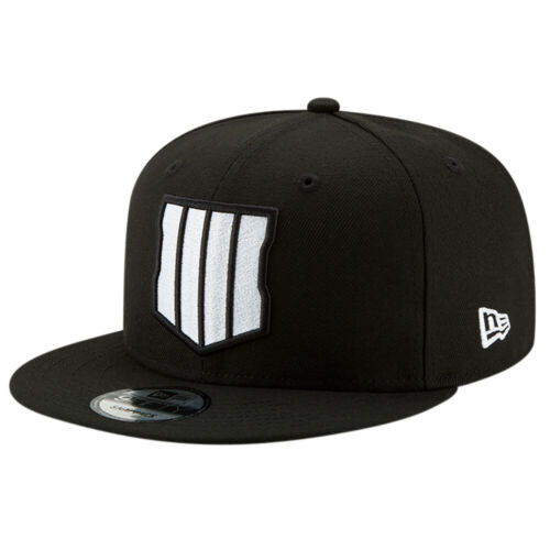 New Era MEN/'S 9Fifty COD Black Ops 4 Cap Black White BNWT