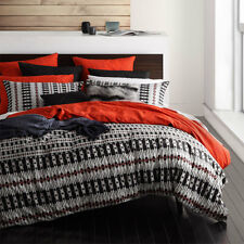 Logan and Mason KENYA SPICE African Tribal Queen Size Bed Doona Quilt Cover Set
