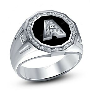 K Letter In Diamond Ring Jewelry & Watches > Men's Jewelry > Rings