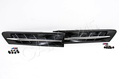 Genuine Front Wing M Trim Grills Left+Right Pair BMW Z3M E36 1996-2002