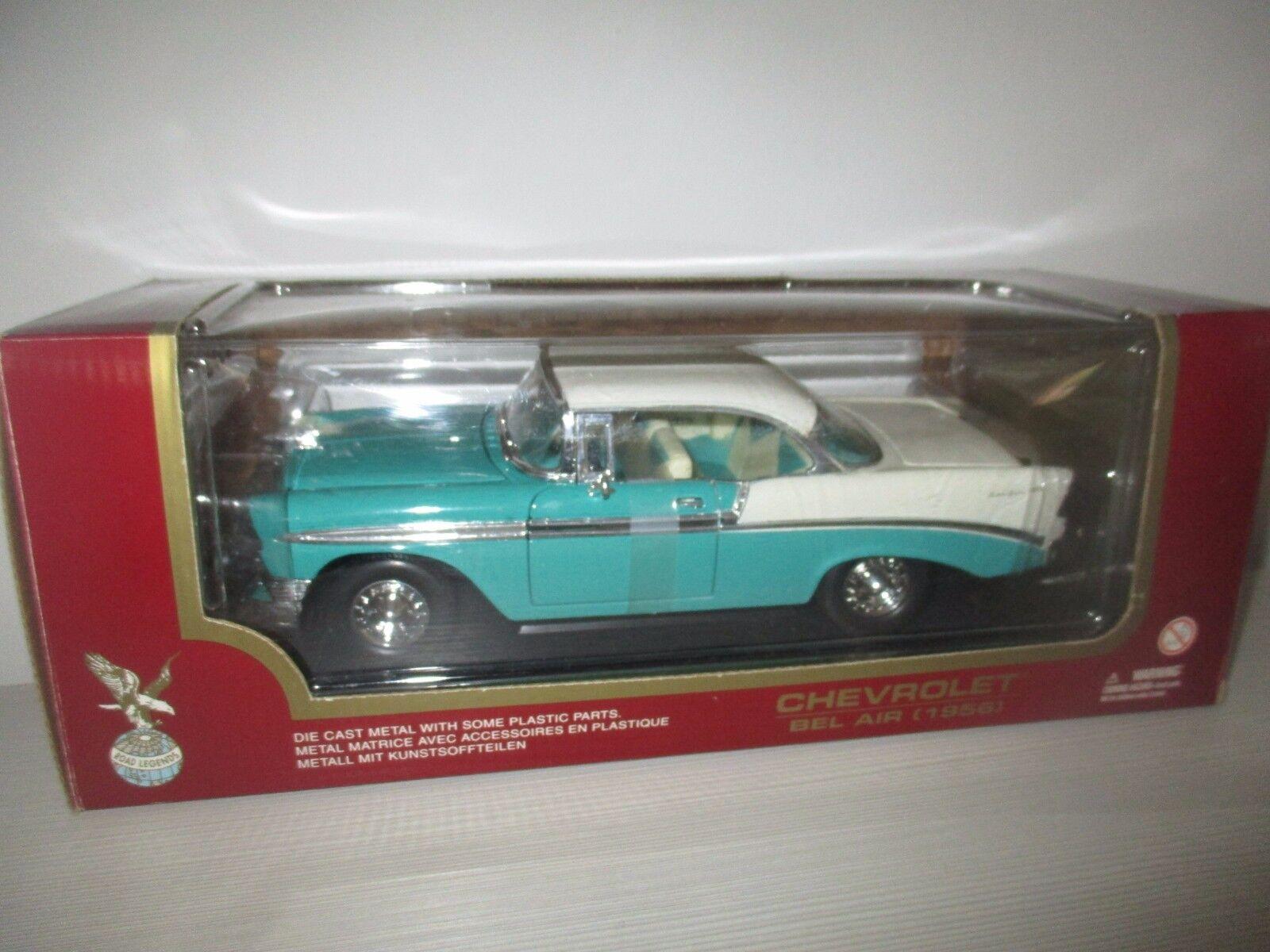 CHEVROLET BEL AIR 1956 NO.92129 ROAD LEGENDS LEGENDS LEGENDS SCALA 1 18 2d60d2