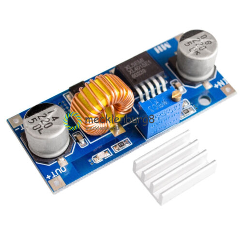 5A DC-DC Step Down Buck Converter Module Power Supply LED Lithium Charger XL4015