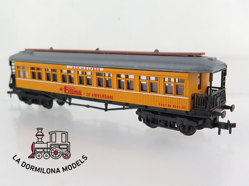 Ede42 ibertren n scale passenger car BB 9002-42 feve limon expres edima (c99)