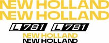 NEW HOLLAND L781 skid steer  L 781 Replacement DECAL / sticker kit made in USA