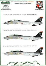 Model Maker Decals 1/48 GRUMMAN F-14B/D TOMCAT Grim Reapers The Last Gunfighters