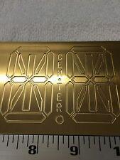 3 D 14 Segment Digital Readout Alphabet Strip For New Hermes Pantograph Font