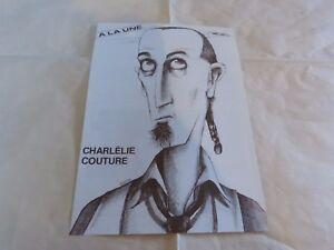 CHARLELIE-COUTURE-Mini-poster-Noir-amp-Blanc