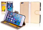 "GOLD Premium New Wallet Leather Case Cover For Apple 5.5"" iPhone 6 Plus"