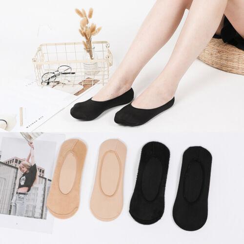 Prettyia 5 Pairs Fuzzy Socks Invisible No Show Crew Socks Home Hosiery Unisex