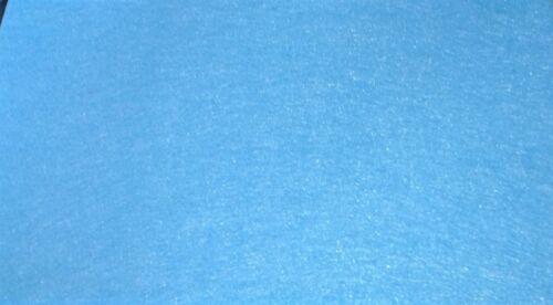 deco brico scrap FEUTRINE 30 X 25 CM 1,5 mm épaisseur Coloris au choix