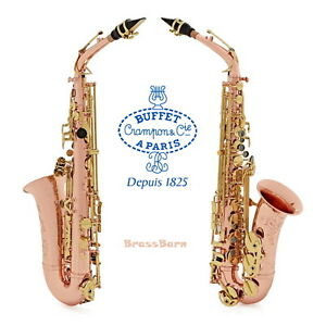 buffet crampon senzo alto saxophone copper brass brassbarn ebay rh ebay com buffet crampon saxophone buffet crampon saxophone s1