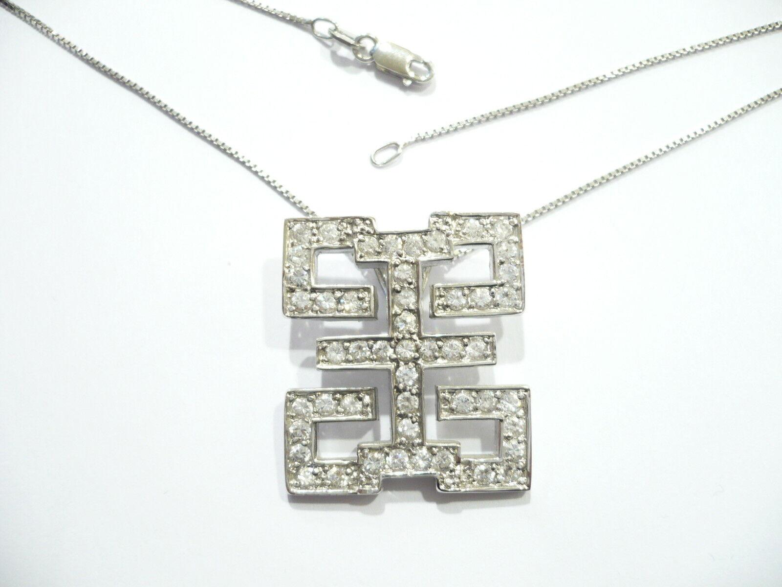 COLLAR silver 925 FANTASIA DE BRILLANTE