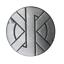 縮圖 1 - Crass Logo Punk Symbol Pin Badge