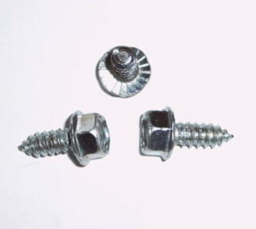 DIN7976 100 Stk Blechschrauben  6,3x16 Stahl  verz