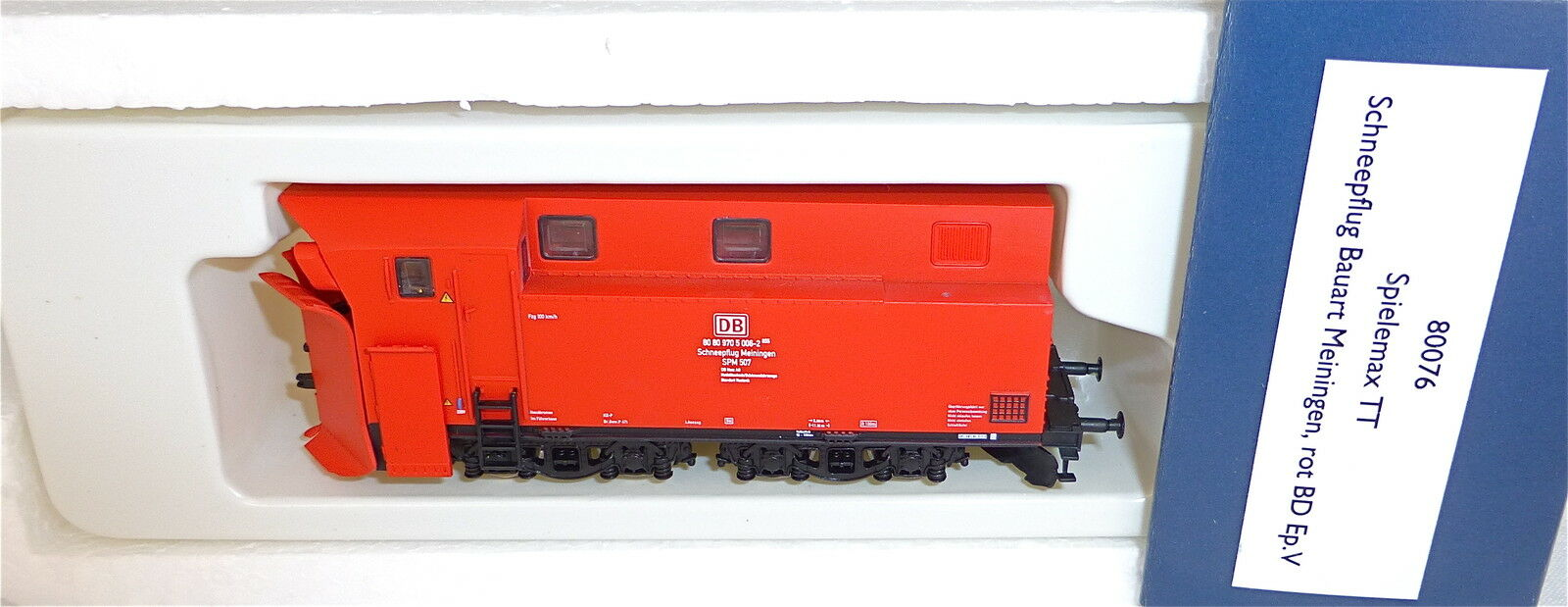 SPAZZANEVE tipo misurazioni senza semaforo rosso DB ep5 HERIS 80076 TT 1:120 hl2 Å *