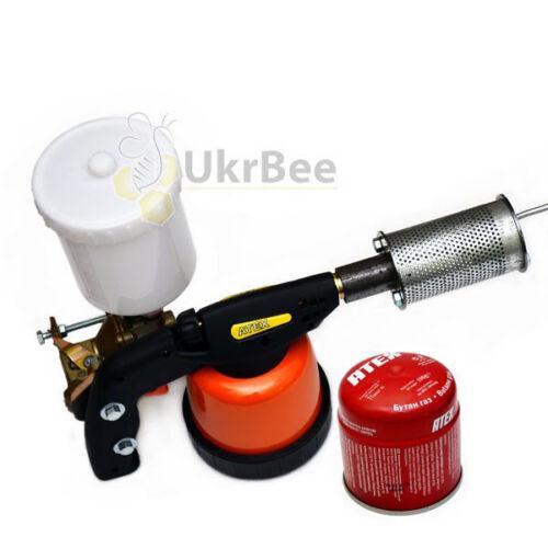 VAROMOR SMOKE CANNON Vaporiser Evaporator Treatment Beekeeping Bee Varroa Mites