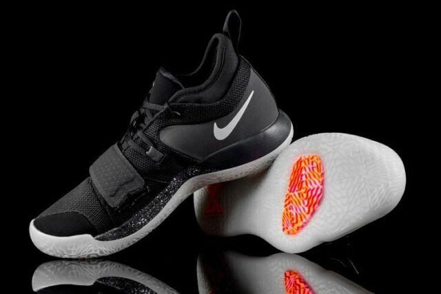sports shoes 29f75 a38b9 Nike PG 2.5 Paul George Black Platinum Anthracite Shoes Sz 11.5