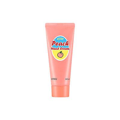 [A'PIEU] Peach Hand Cream - 60ml