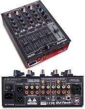 Dj Tech DDM2000USB Professional Compact 4 Channel Usb Dj Mixer W/multiple Photo,