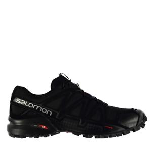 Salomon Speedcross 4 Calzado para Correr Para Hombre Negro Talla UK 9 nos 9.5 * refcrs 128