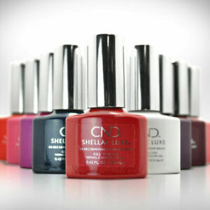 CND-SHELLAC-LUXE-60-Second-Removal-GEL-POLISH-Pick-from-20-Colors-Top-Coat-NIB