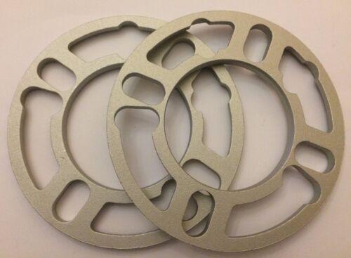 2 x 10mm RASAMENTI Distanziali Cerchi in lega Distanziatori universale si adatta alla FIAT 58.1