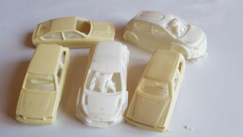 1//43 Skoda Opel Fiat Alfa Romeo scocche difettose