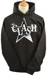 Sheriff Punk Hoodie British Clash The Original Hoody Unisex 5xl Black Star S UwnWxZ8