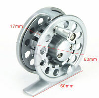Aluminium Trout Fly Fishing Reel Line Spool 60mm 2/3 Wt Left Or Right Handed