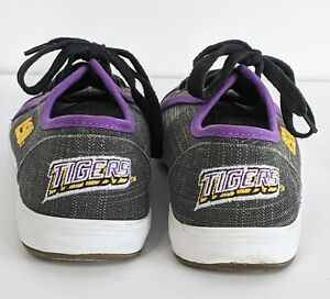 discounted on sale LSU Tigers Womens Shoes Size 7 Gray Purple ...