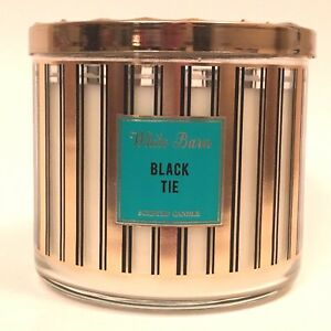 1-BATH-amp-BODY-WORKS-BLACK-TIE-3-WICK-SCENTED-LARGE-14-5-OZ-CANDLE-WHITE-BARN