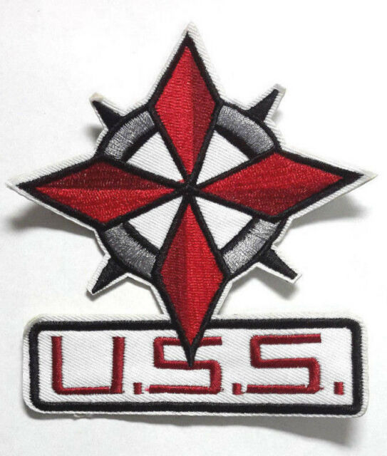 "Resident Evil: Op Raccoon City USS Umbrella Security Logo 4.5"" Patch (REPA-117)"