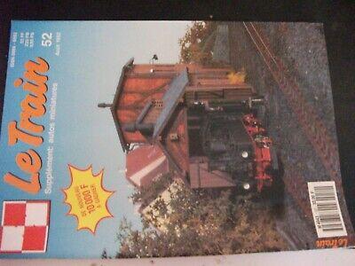"""** Revue Le Train N°52 140 A 1 à 170 Du Plm / X 4200 """" Panoramiques """" Costo Moderato"""