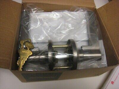 Black Schlage J54-SOL Schlage J54-SOL Solstice Single Cylinder Keyed