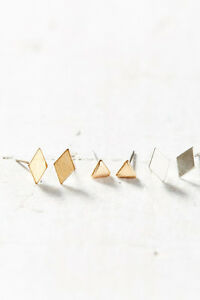 567725bd5 Image is loading Urban-Outfitters-Metal-Shapes-Post-Earring-NWT-20