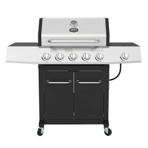 OUTDOOR GAS GRILL 5-Burner Propane BBQ Grill Stainless ...