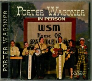 Porter-Wagoner-In-Person-RARE-OOP-Original-Live-1964-RCA-1998-KOCH-CD-Mint