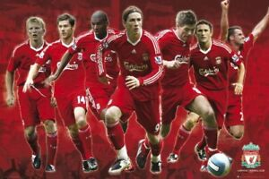 Liverpool FC Players Collage Maxi Poster 61x91.5cm SP0567