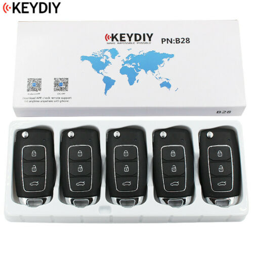KEYDIY Universal B28 for KD900 URG200 KD-X2 Remote Control Key 5PCS//LOT