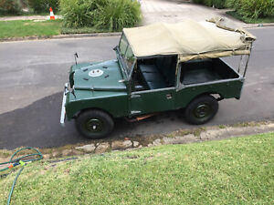 """Land Rover 86"""" Series One 1955"""