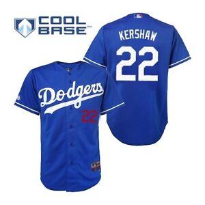 54d6062c Clayton Kershaw Los Angeles Dodgers Men Jersey Gray Blue Black New ...