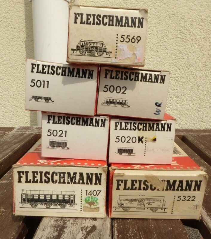 Fleischuomon Raccolta 7 Pezzi Güter-und Güter-und Güter-und autoroza Db Ep.3 4 Usato in Conf. Orig. e0b66e