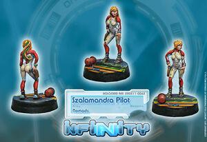 Infinity BNIB nomades-pilote szalamandra 280511  </span>