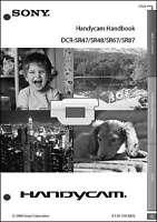 Sony Dcr-sr47 Dcr-sr48 Dcr-sr67 Sr87 Camcorder User Instruction Guide Manual