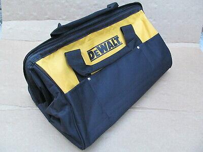 NEW Worx empty tool bag 12.5 x 6.5 x 8.5 black//orange