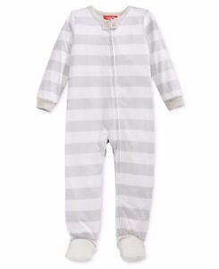 7dc281342cf7 Family Pajamas Baby Boys    Baby Girls  Knit Footed Pajamas