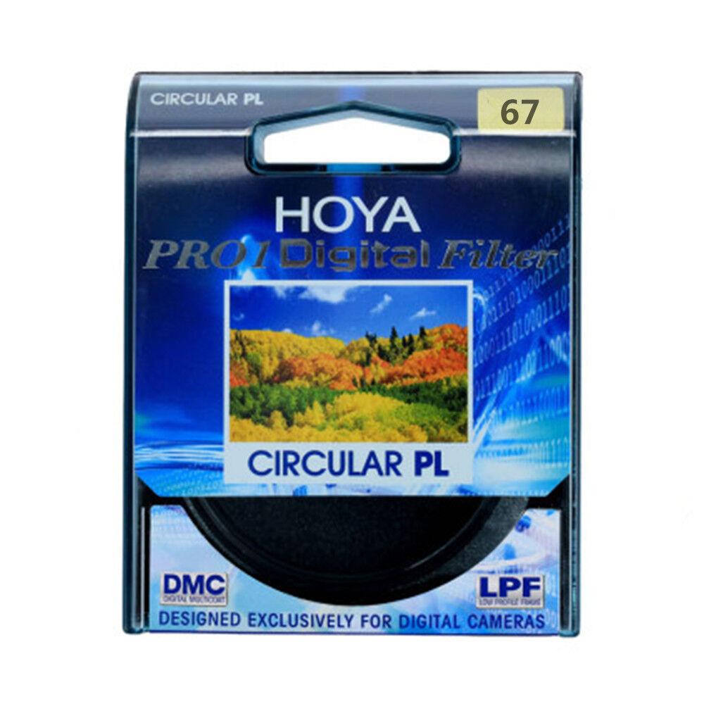 HOYA 67mm for SLR Camera  Pro1 Digital CPL CIRCULAR Polarizer Camera Lens Filter 3