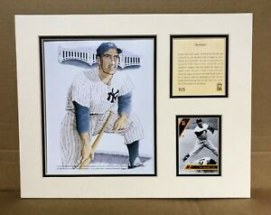 New-York-Yankees-PHIL-RIZZUTO-1994-MLB-Baseball-11x14-MATTED-Lithograph