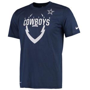 New-Dallas-Cowboys-NFL-Football-Nike-Dri-Fit-Legend-Icon-Shirt-Navy-Blue-Men-039-s